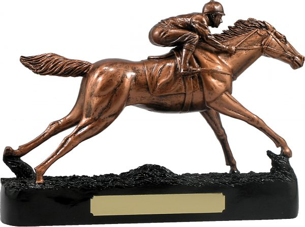 Bronze Horse Racing 230mm