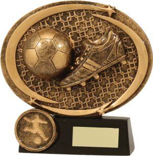 Soccer Memento Plaque 110mm