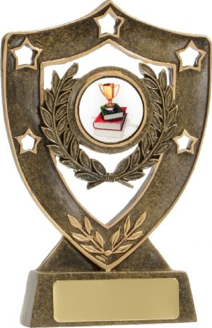 Achievement Gold Shield 135mm