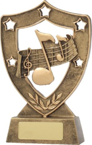 Music Gold Shield 155mm