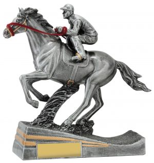Silver Racing Trophy 180mm