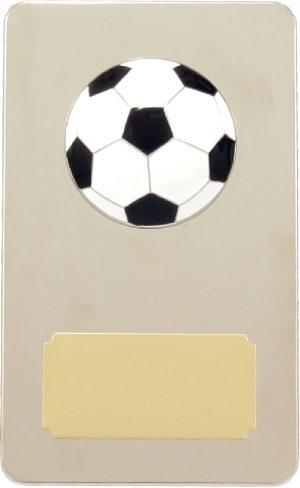 Metal Football Plaque 150mm
