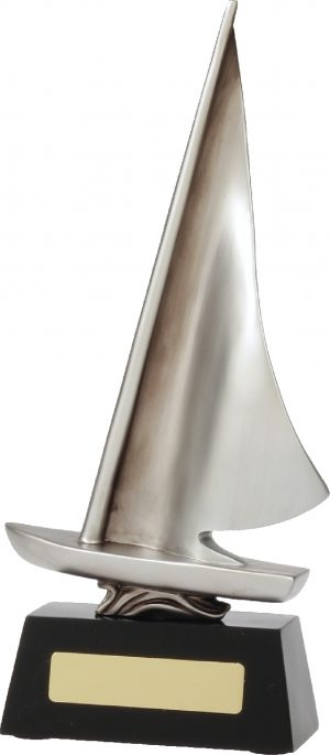 Abstract Dinghy Silver 265mm