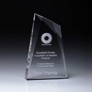 Acrylic Peak Award 250mm
