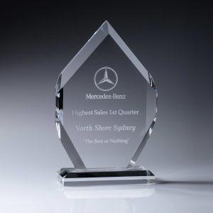 Acrylic Arrow Award 250mm