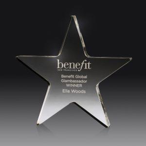 Acrylic Star Award 150mm