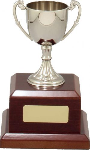 Classic Nickle Plated Cup 160mm