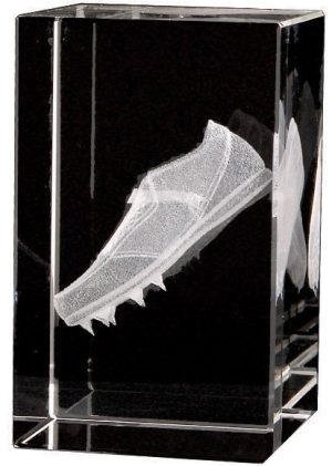 Athletics Crystal Block 80mm