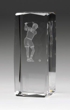 Golf Hologram Female 120mm