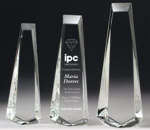 Phoenix Crystal Standout Award 300mm