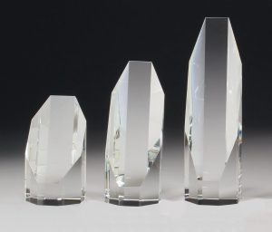 Crystal Octagon Award 200mm