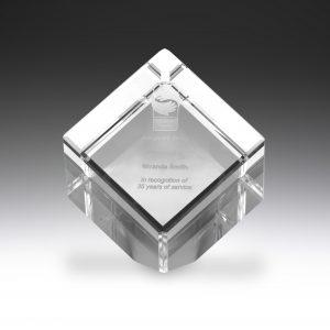 Crystal Cube Award 125mm