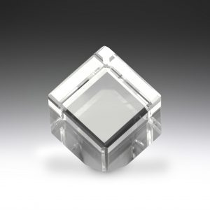 Crystal Cube Award 90mm