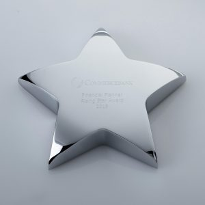 Star Metal Paperweight 100mm