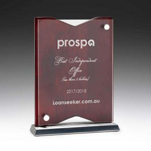 Elemental Plaque Award 200mm