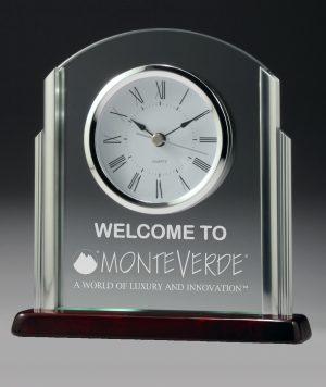 Deco Glass Clock 190mm