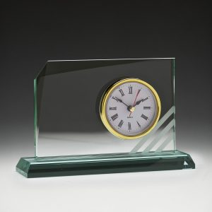 Rialto Glass Clock 115mm