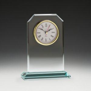 Oxford Glass Clock 170mm