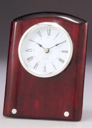 Voyage Timber Clock 170mm