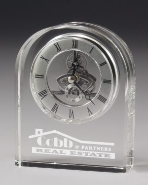 Epoch Crystal Clock 145mm