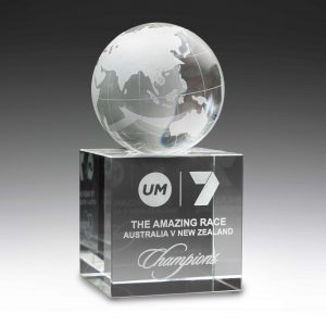 Globe Crystal Award 145mm