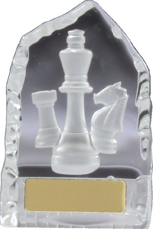 Chess Crystal Iceberg 110mm