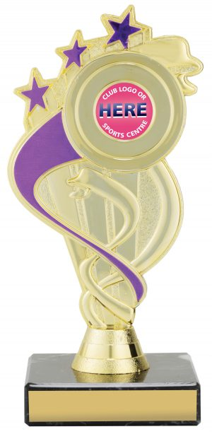 Dance Purple Ribbon Star 180mm