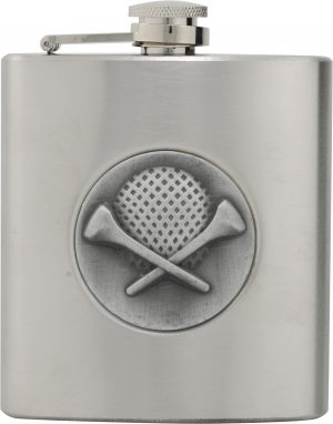 Golf Stainless Steel Flask 6oz