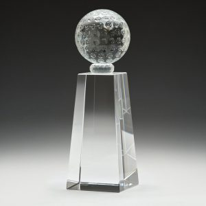 Golf Crystal Pedestal