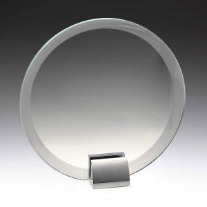 Glass & Metal Compass 175mm