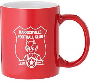Laserable Red Coffee Mug 325ml