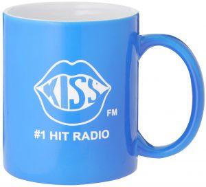 Laserable Blue Coffee Mug 325ml