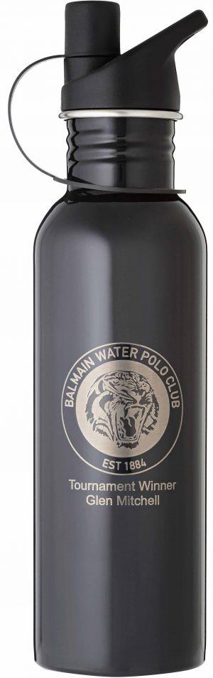 Laserable Black Water Bottle 740ml