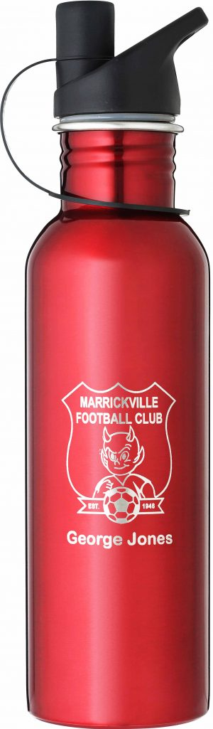 Laserable Red Water Bottle 740ml