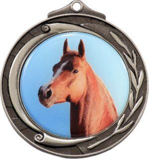 Wreath Medal 50mm Silver