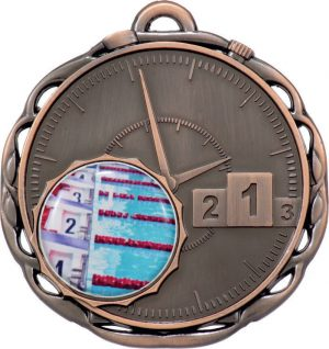Medal Stopwatch Bronze