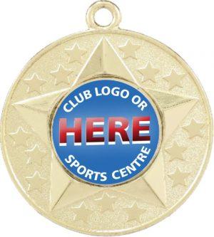 Stars Medal Gold