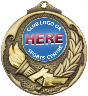 Torch Medal Gold
