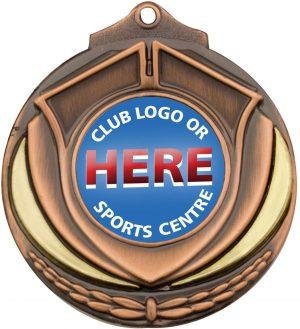 Shield Medal Bronze