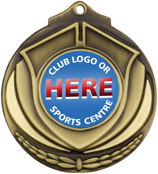 Shield Medal Gold