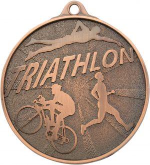 Triathlon Medal Bronze
