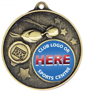 Club Medal Swimming Gold