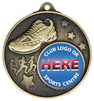 Club Medal Cross Country Gold