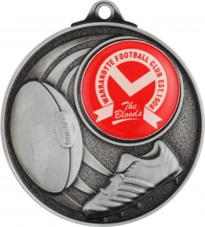 A/Rules Medal - Insert Option Silver