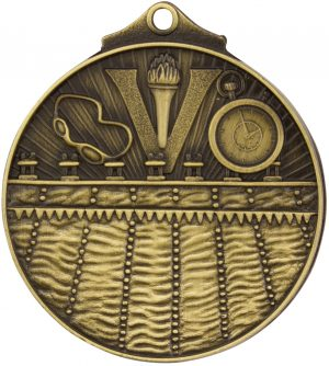 Swim Medal Gold