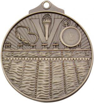 Swim Medal Silver