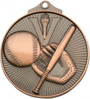 Baseball Medal Bronze