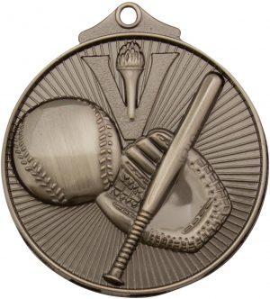 Baseball Medal Silver