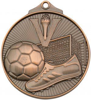 Soccer Medal Bronze
