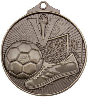 Soccer Medal Silver